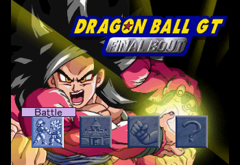 Dragon Ball GT: Final Bout - Introduction  - This screen is much cooler than the usual. - User Screenshot