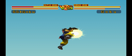Dragon Ball GT: Final Bout - Battle  - Ka - Me - Ha - Me... - User Screenshot
