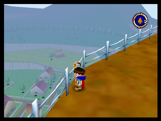 Quest 64 - Misc A large world - Overlooking how expansive the maps are. - User Screenshot