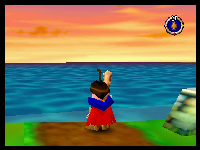 Quest 64 - Misc Melrode - Sunset on Melrode beach. - User Screenshot