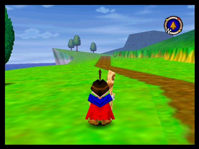 Quest 64 - Misc Holy Plains - A look at the Holy Plains outside of Melrode. - User Screenshot