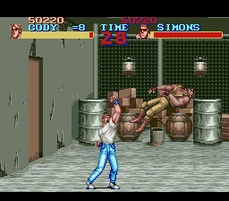 Final Fight - Cut-Scene  - Killer Uppercut! - User Screenshot