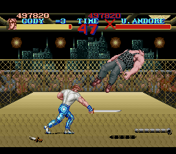 Final Fight - Battle  - TAKE IT ANDORE!!! - User Screenshot