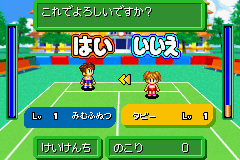 Mario Tennis Advance - Misc Experience dividing up -  - User Screenshot