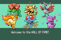 Pokemon Rebirth - Ending  - My Nuzlocke run team. Skarmony died :( - User Screenshot