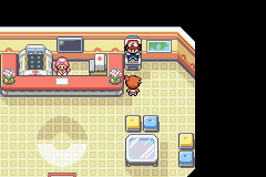 Pokemon - Advanced Adventure (beta 1) - Please tell me you can see him too... - User Screenshot