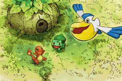 Pokemon Mystery Dungeon - Red Rescue Team - Introduction  -  - User Screenshot