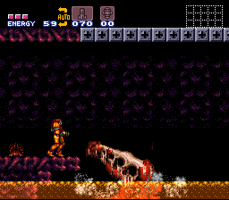 Super Metroid - Battle  - You know, for kids! - User Screenshot