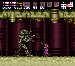 Super Metroid - Location Tourian - Stick em