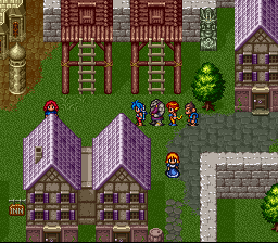 Breath of Fire II - Location  - Capitan - User Screenshot