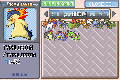 Pokemon Rebirth - Character Profile Starters - All starters, including my favorite :D - User Screenshot