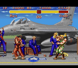 Super Street Fighter II - The New Challengers - WTF? - User Screenshot