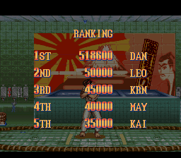 Super Street Fighter II - The New Challengers - I may have lost, but I gave 1 heck of a run! - User Screenshot
