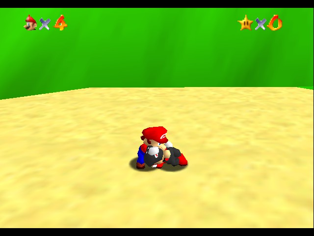 Super Mario 64 - Multiplayer - wakeUP!!!! - User Screenshot