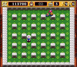 Super Bomberman 2 - poor thing - User Screenshot
