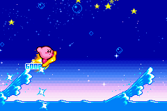 Kirby & the Amazing Mirror - Mini-Game Kirby Wave Ride - Kirby Wave Ride! - User Screenshot