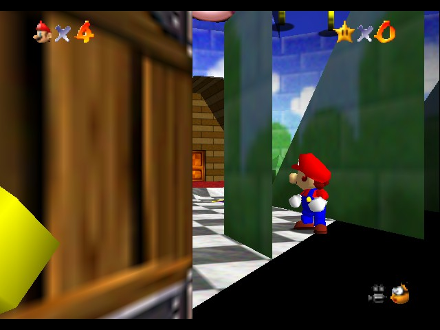 Super Mario 64 - Location Peach\ - Where am I? - User Screenshot