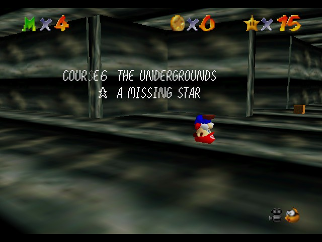 Super Mario 64 - The Missing Stars - Mario