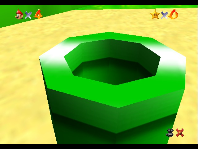 Super Mario 64 - Introduction  - It all starts with a pipe?! - User Screenshot