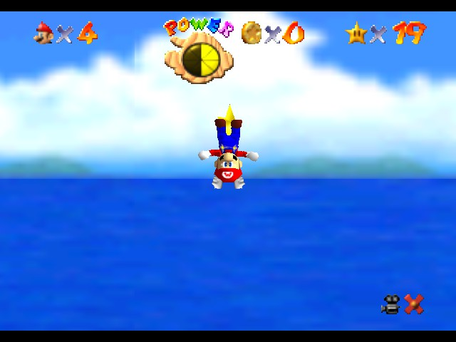 Super Mario 74 - This is fun! And the star is between my legs! - User Screenshot