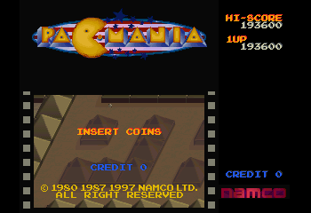Namco Museum Vol. 5 - Introduction  - Wow I was not expecting this score! - User Screenshot