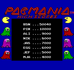 Pac-Mania -  - User Screenshot