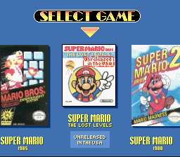 Super Mario All-Stars  Super Mario World - top left of box: a burger? - User Screenshot