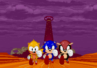 SegaSonic The Hedgehog (Japan, rev. C) - I beat the game - User Screenshot