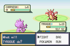 Pokemon Fire Red - Generations (v1.4) - Battle  - FIRST SHINY IN THIS GAME! - User Screenshot