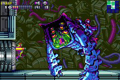 Metroid Fusion - Battle  - Nightmare what happened to your face!?  - User Screenshot