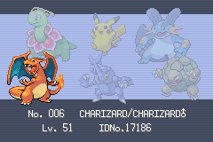 Pokemon Shiny Gold - Ending  - My Team :P - User Screenshot