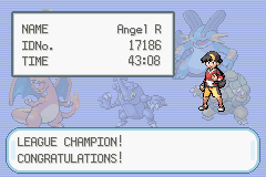 Pokemon Shiny Gold - Ending  - Game Time Yep That Long - User Screenshot