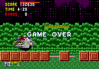 Sonic the Hedgehog - Ending  - GAME OVER YEEEAAAHH!! - User Screenshot