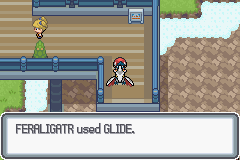 Pokemon Light Platinum - Character Profile  - So apparently my feraligatr can glide - User Screenshot
