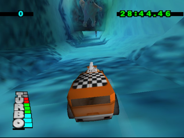 Hot Wheels Turbo Racing - Level  - He DOES exist!?!? - User Screenshot