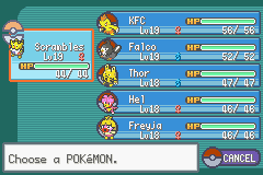 Pokemon - Yet Another Fire Red Hack - that