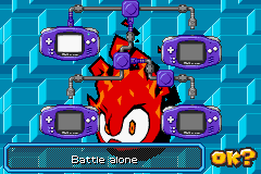Sonic Battle - Battle  - no one loves me - User Screenshot
