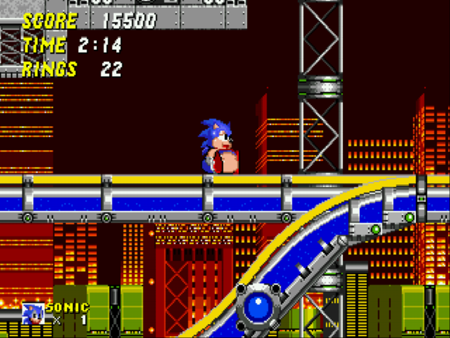Play Sonic 2 XL rom hack Game Online - User screenshots - Sega Genesis
