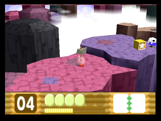 Kirby 64 - The Crystal Shards - Tomahawk JAM - User Screenshot