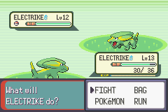 Pokemon Emerald - Battle  - i was kinda hopeing for a male this time.. - User Screenshot
