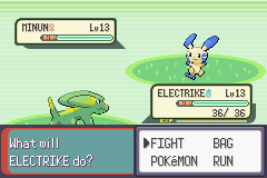 Pokemon Emerald - Battle  - sure they may seem even but... - User Screenshot