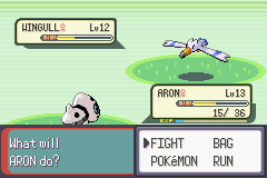 Pokemon Emerald - Battle  - i think we all know how this is going to end. - User Screenshot