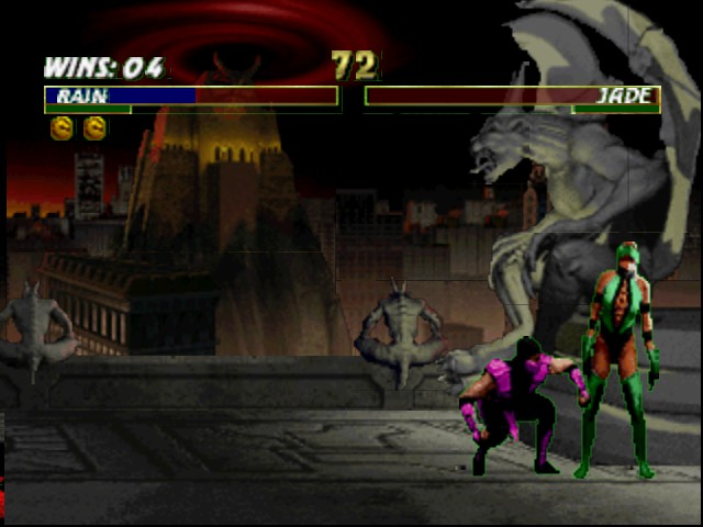Mortal Kombat Trilogy - Fatality with my best and fav guy. - User Screenshot