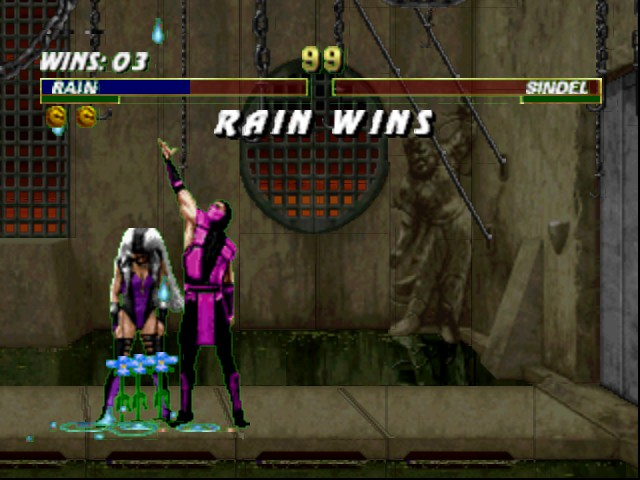 Mortal Kombat Trilogy - Well friendship a person dressed in purple - User Screenshot
