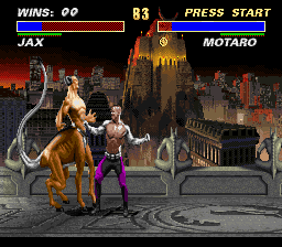Ultimate Mortal Kombat 3 - Big punch coming up - User Screenshot