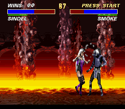 Ultimate Mortal Kombat 3 - I will whip my hair back and forth - User Screenshot