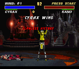 Ultimate Mortal Kombat 3 - Flawless 2 times in a row. - User Screenshot