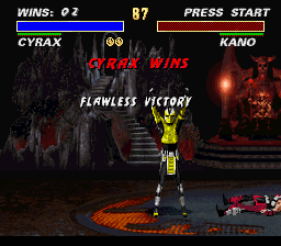 Ultimate Mortal Kombat 3 - --forgot-- - User Screenshot
