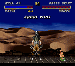 Ultimate Mortal Kombat 3 - I have been hacked! - User Screenshot