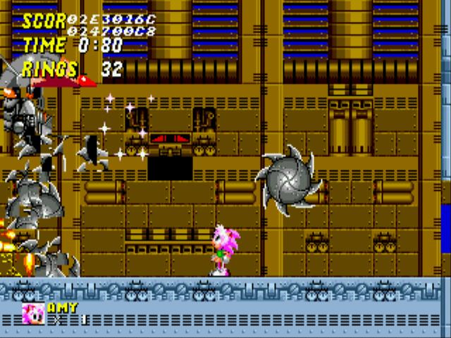 Play Amy Rose in Sonic the Hedgehog 2 online - Sega Genesis game rom